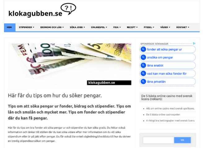 Tips om att söka pengar ur fonder, bidrag och stipendier.