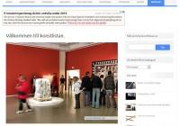 Konstlistan är tänkt som en resurs och länkkatalog till bra sidor om konst, den är alltså en startpunkt för att hitta mer information.